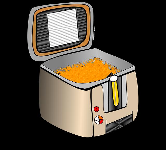 wie funktioniert eine fritteuse mit fett