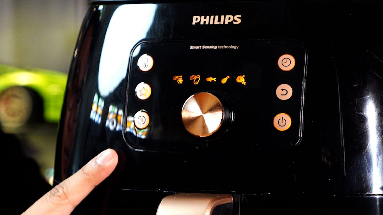 Philips-Airfryer-XXL bedienung