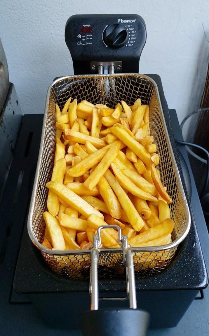 bestron fritteuse test